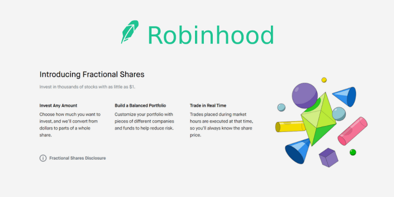 Robinhood Review: Fractional Shares