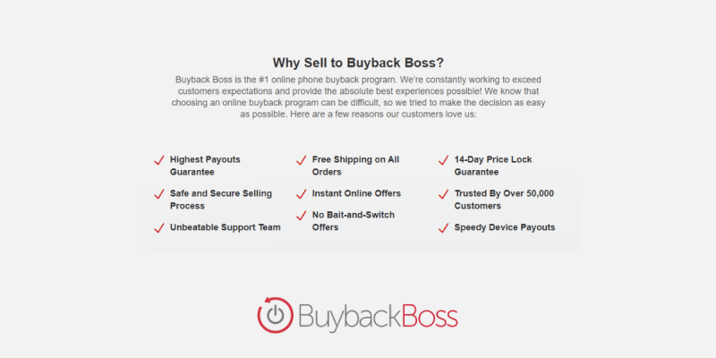 Why Sell to Buyback Boss