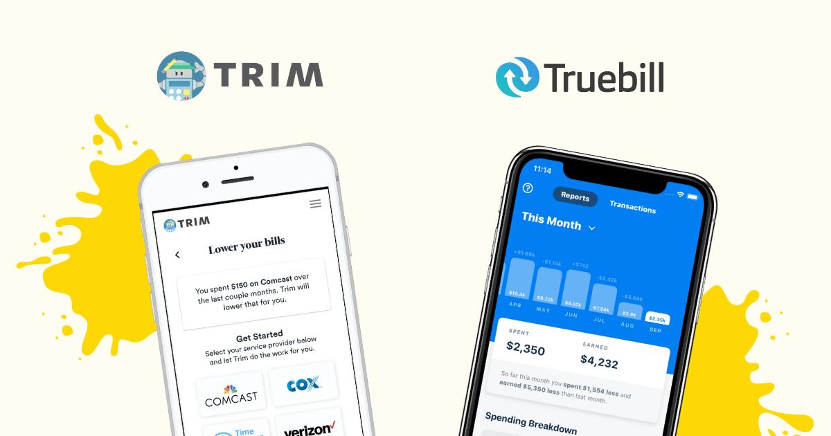 Trim vs Truebill Review