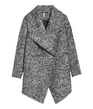 Wool-Blend Boucle Coat From H&M $79.99
