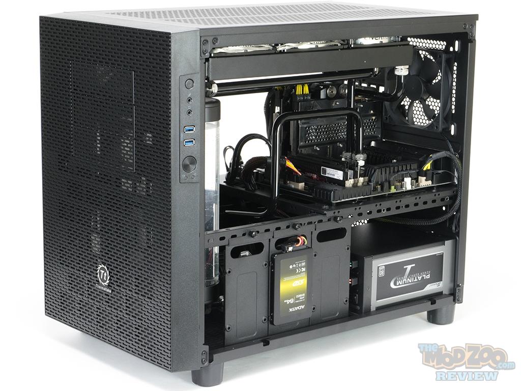 Thermaltake Core X2 Matx Case Review