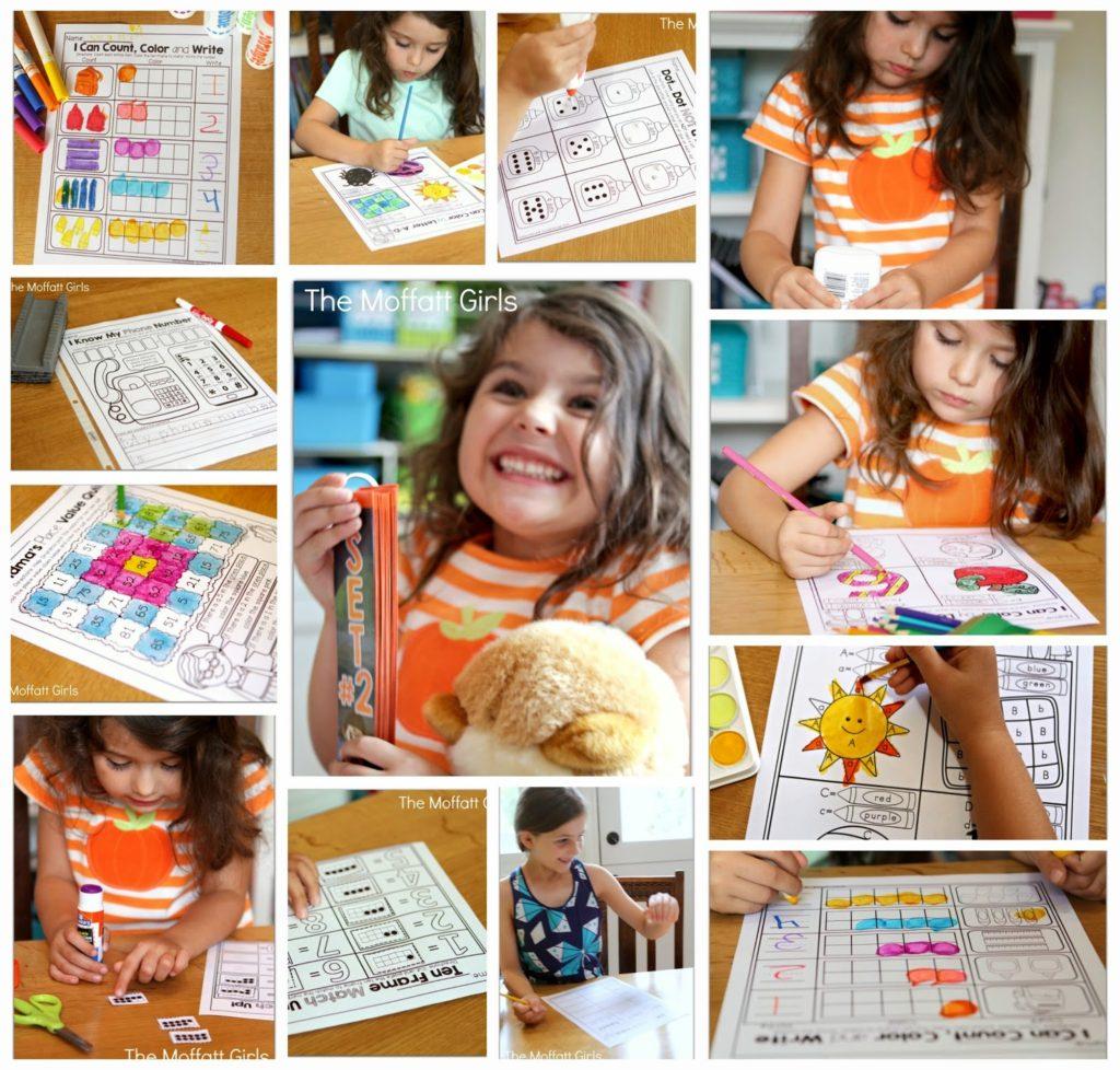 School Worksheet For Girls