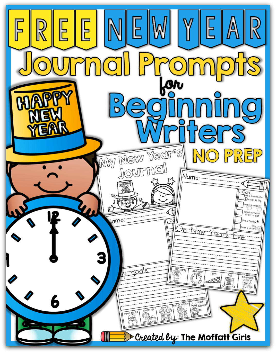 Free New Year Journal Prompts For Beginning And Or Struggling Writers