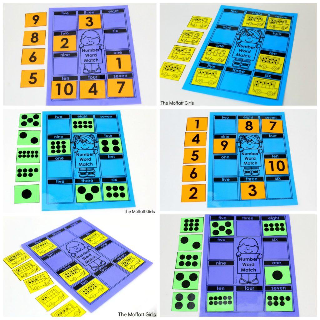 Kindergarten Math Numbers 1 10