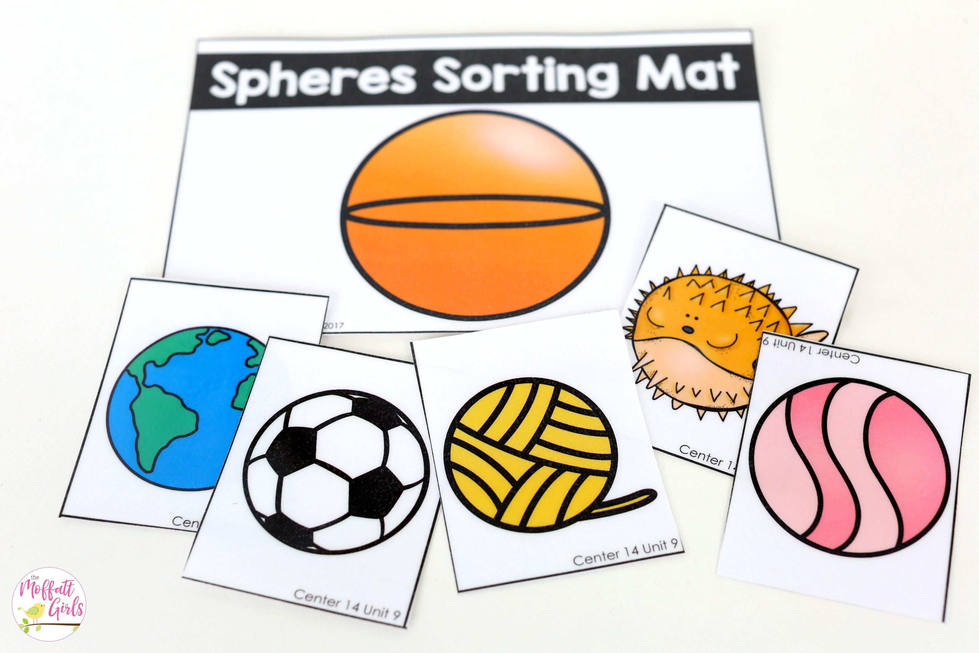 Sorting Shapes Spheres