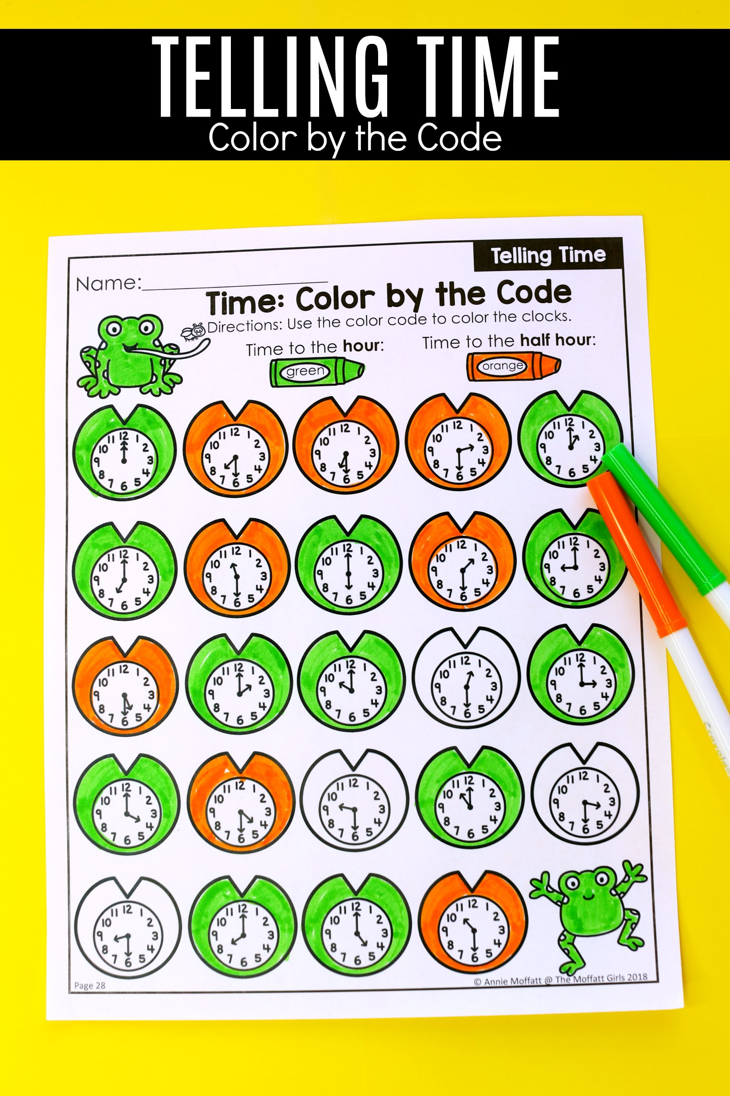 Telling Time Worksheets 6b