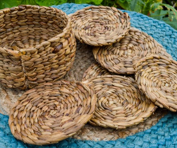 Buy hyacinth coaster set