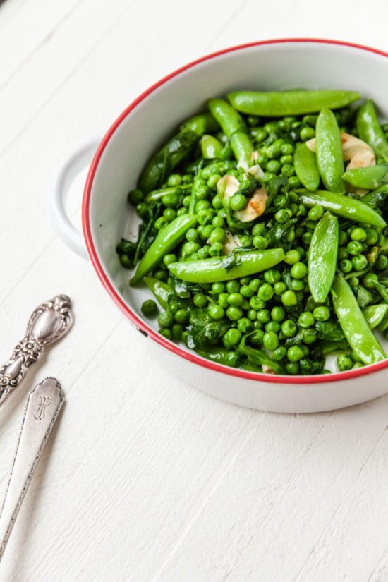 Simplest, Freshest Spring Greens / Carrie Crow / Katie Workman / themom100.com