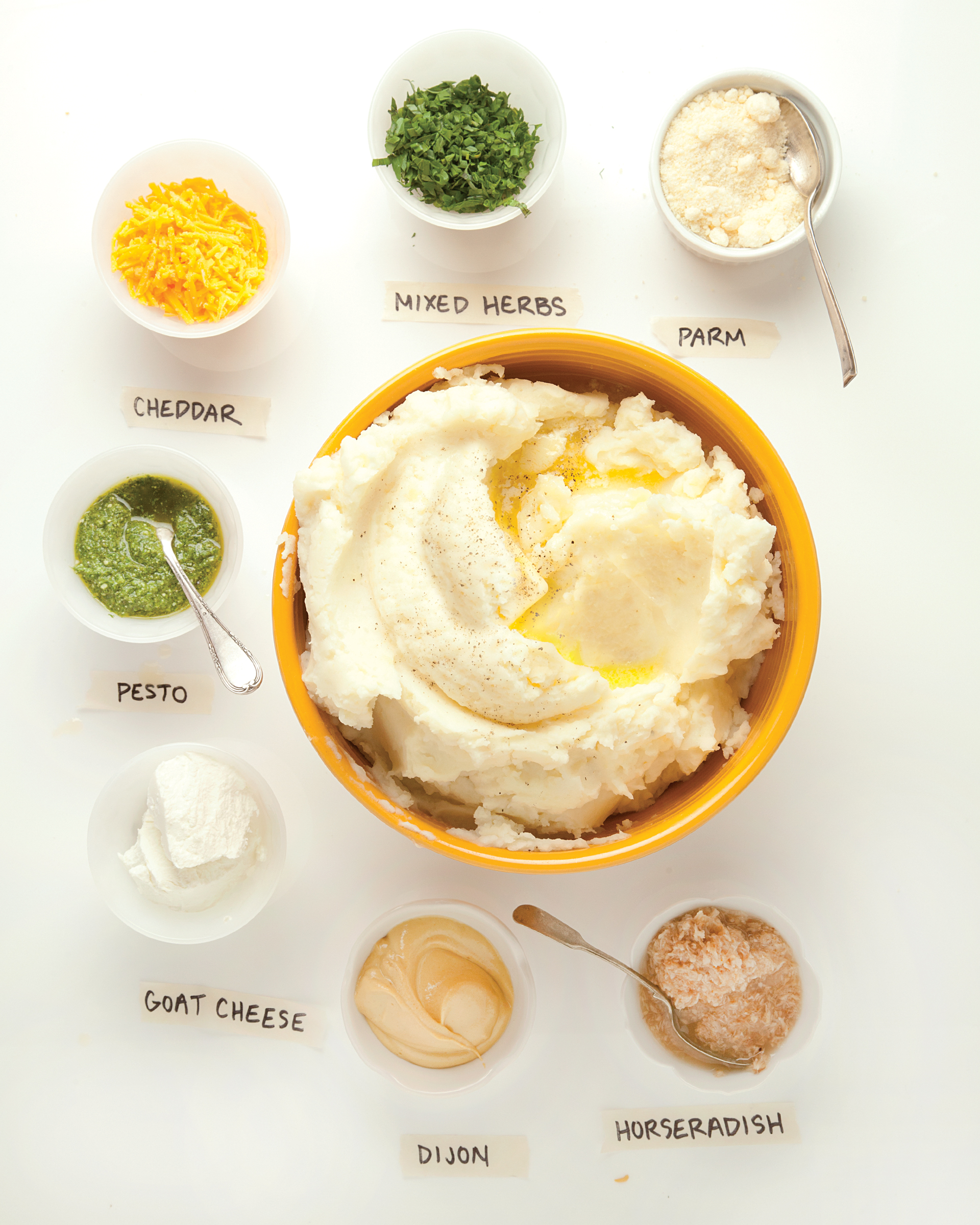 Perfect Mashed Potatoes: The ultimate comfort food; it's hard to image a cold weather meal that wouldn't be better with a side of mashed potatoes.