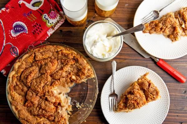 The Best Streusel Apple Pie Ever