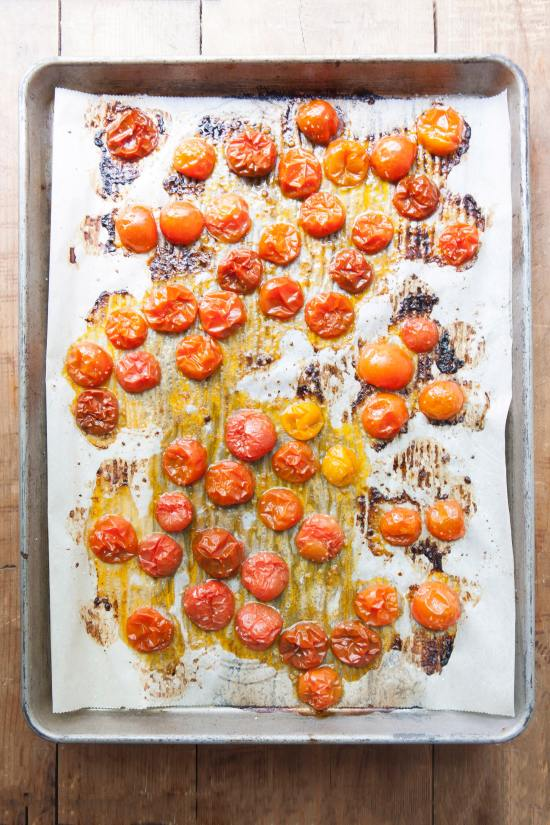 How to Make Perfect Roasted Tomatoes / home cooking/ Photo by Kerri Brewer / Katie Workman / themom100.com