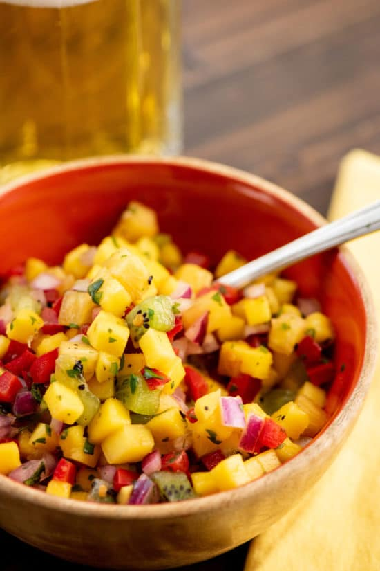 Tropical Fruit Salsa / Photo by Cheyenne Cohen / Katie Workman / themom100.com