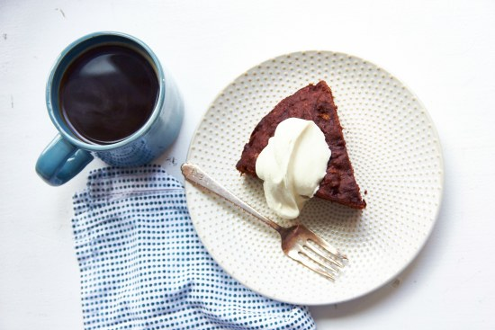 Chocolate Banana Cake / Mia / Katie Workman / themom100.com