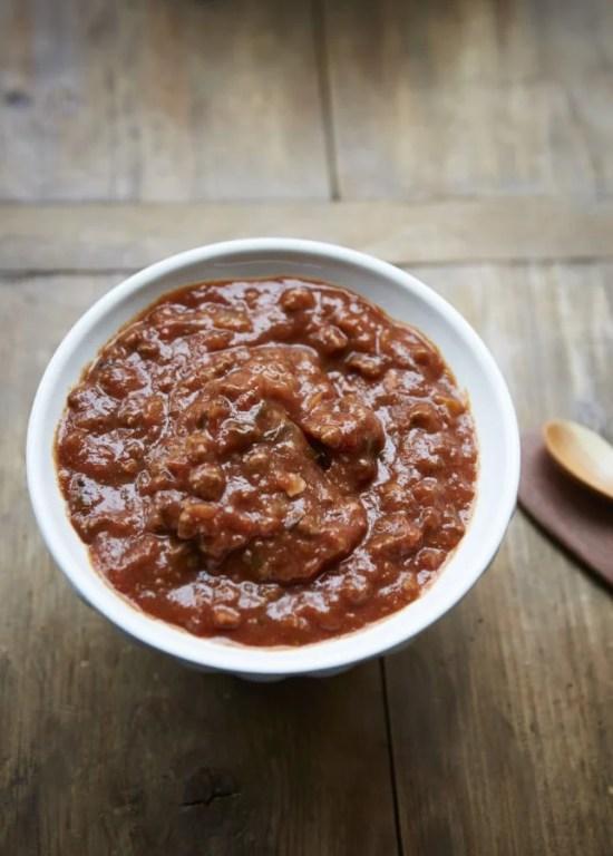 Quick Bolognese Sauce / Evi Abeler / Katie Workman themom100.com