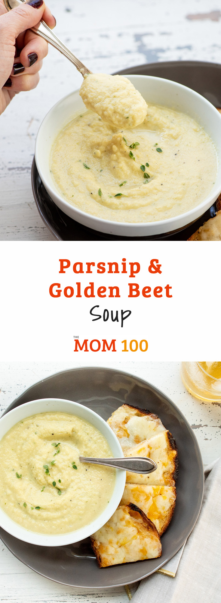Parsnip and Golden Beet Soup