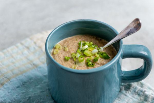 Roasted Cauliflower and Sunchoke Soup