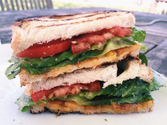 The Ultimate BLT Grilled Cheese / Katie Workman / themom100.com