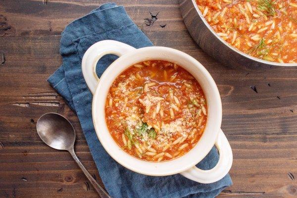 Tomato Orzo And Dill Soup Recipe The Mom 100