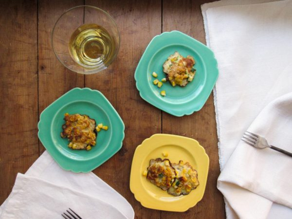 Corn and Zucchini Fritters / Lucy Beni / Katie Workman / themom100.com