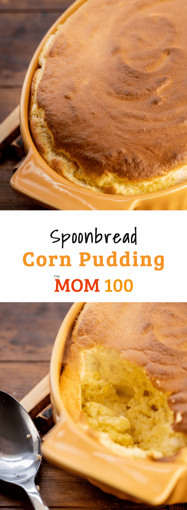 If corn pudding and spoonbread had a baby. Spoonbread Corn Pudding is a delicious side dish that will have everyone asking for seconds.