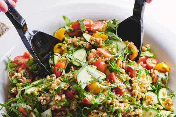 Summer Whole Grain and Vegetable Salad