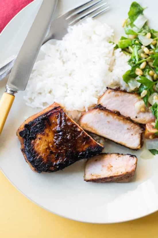 Best Korean Pork Chops / Sarah Crowder / Katie Workman / themom100.com