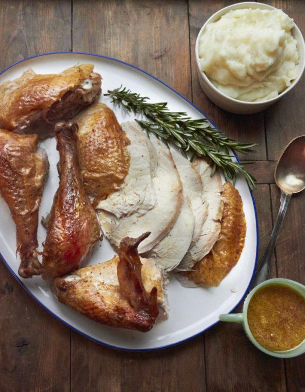 Dry Brined Turkey / Sarah Crowder / Katie Workman / themom100.com