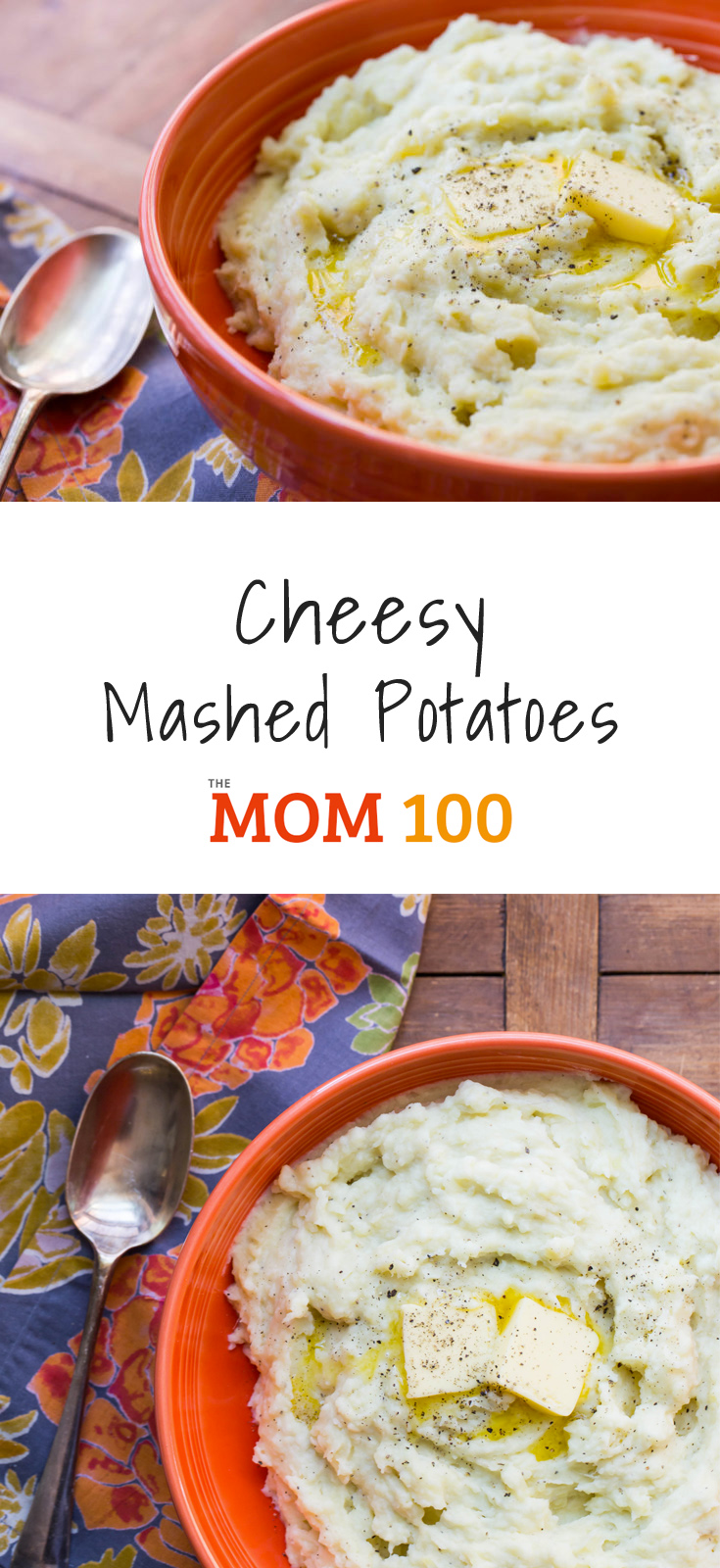 Cheesy Mashed Potatoes / Nothing makes a favorite comfort food better than the addition of cheese.
