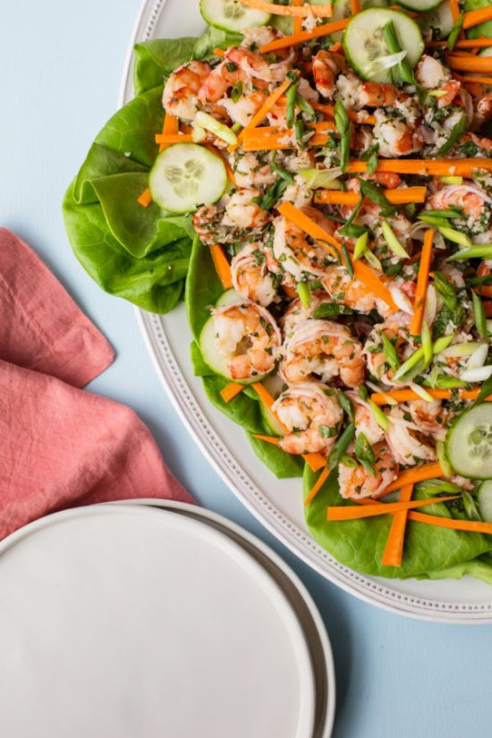 Vietnamese Shrimp Salad / Sarah Crowder / Katie Workman / themom100.com