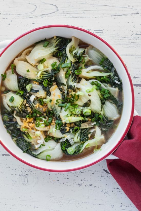 Best Way to Cook Bok Choy / Carrie Crow / Katie Workman / themom100.com