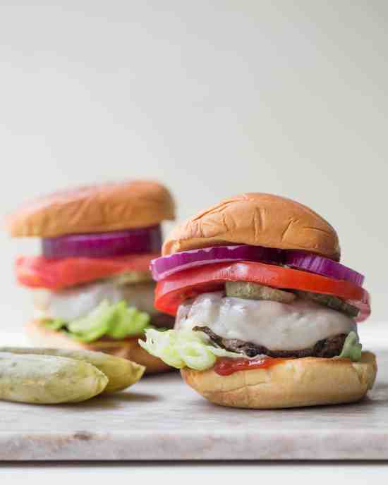 Deviled Burgers / Sarah Crowder / Katie Workman / themom100.com