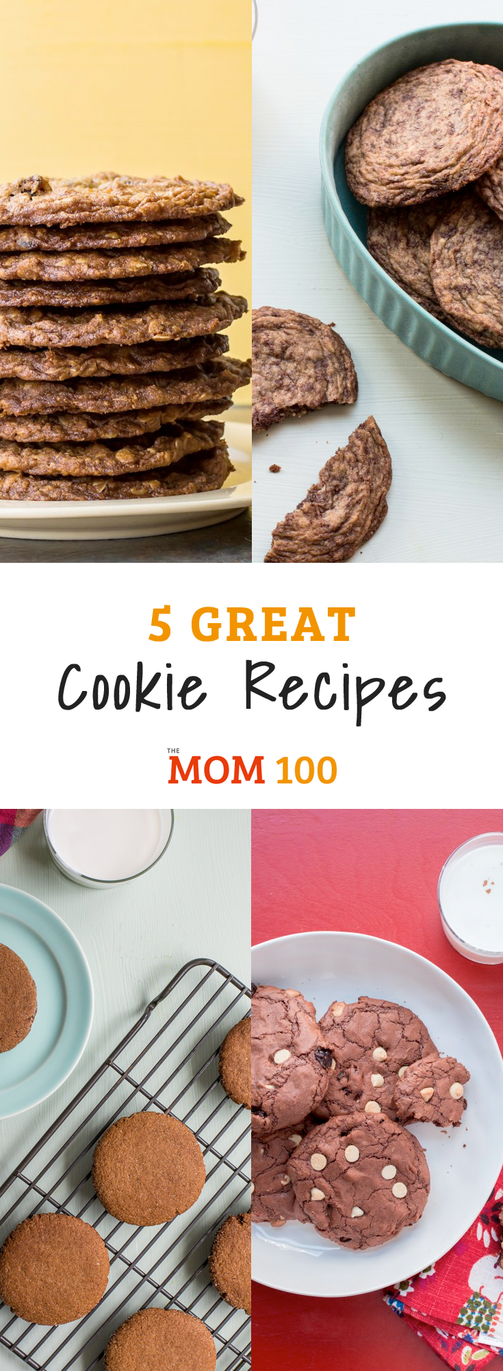 Here are 5 Great Cookie Recipes for the Holidays. These cookies aren't always the most polished or ornate, but they are the most delicious.