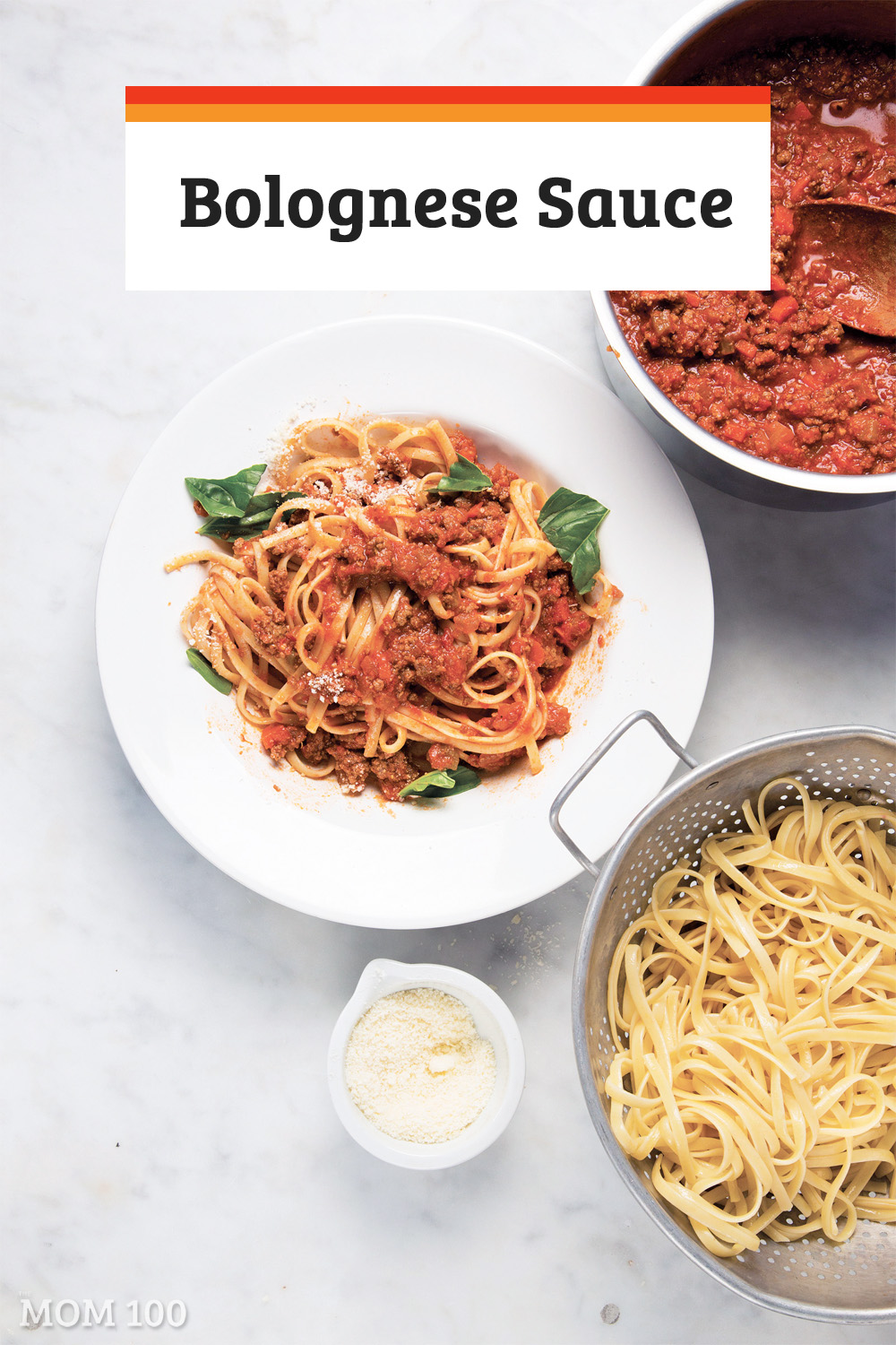 Traditional Bolognese usually involves a much longer cooking period but this Bolognese Sauce is a quick and easy weeknight version.