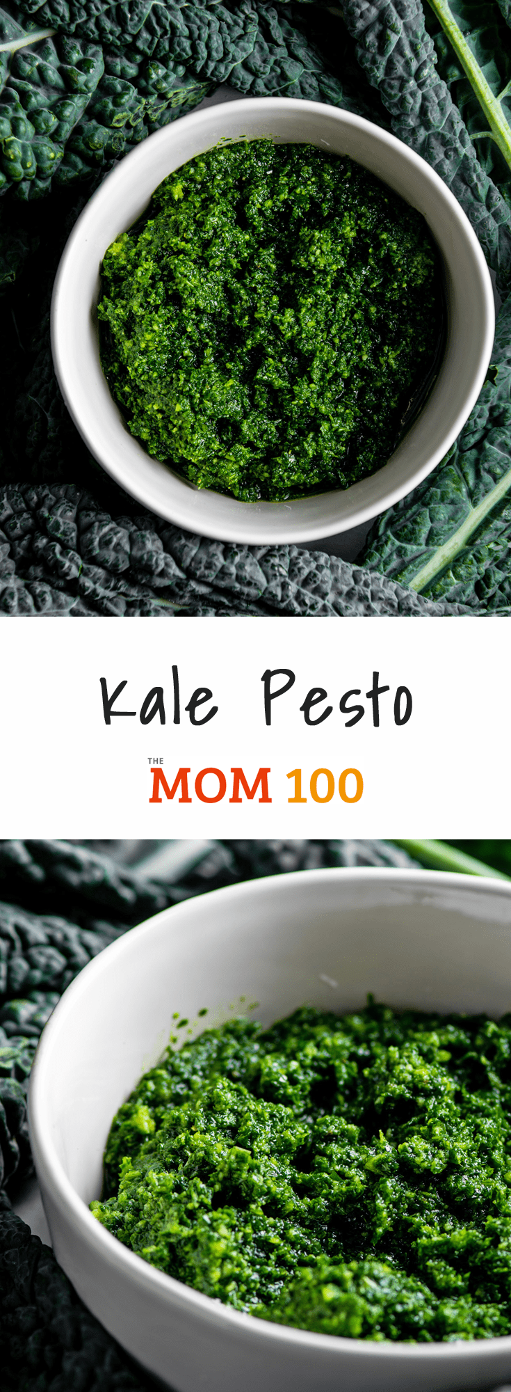 Kale Pesto / A clever (and easy!) kale pesto recipe that you can make when there's no basil in sight! #nutfree