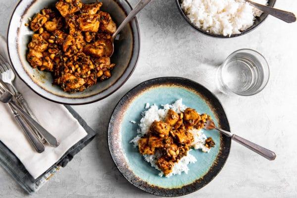 Chicken Stir Fry with Peanuts