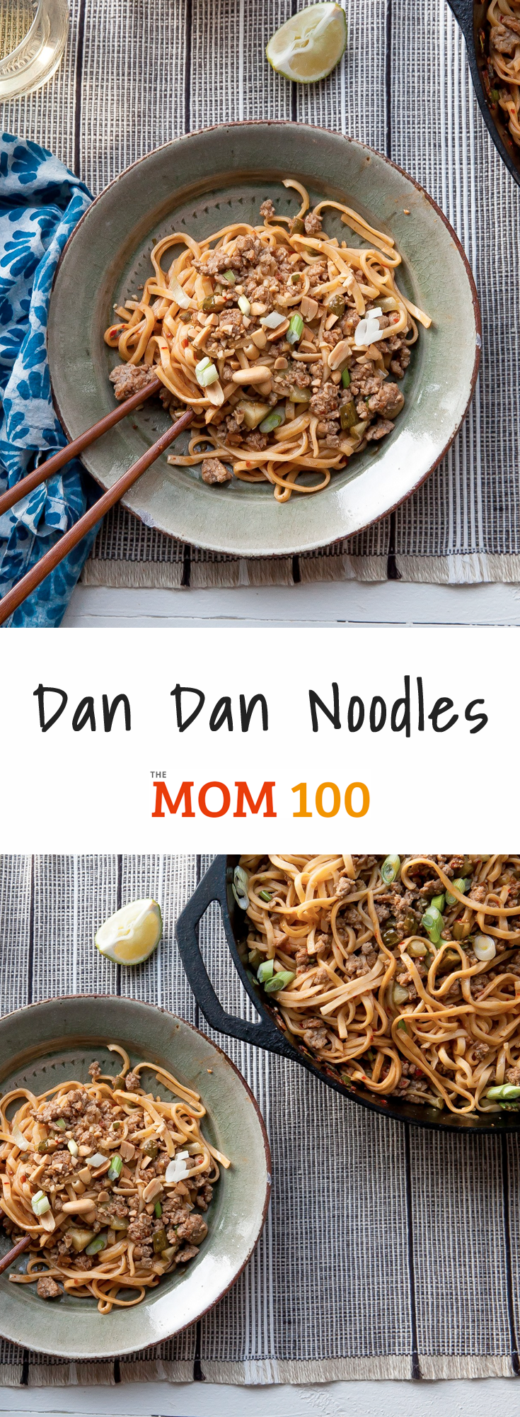 Dan Dan Noodles: A classic Sichuan Lunar New Year dish, spicy, with loads of texture, and good luck built in from the long noodles.