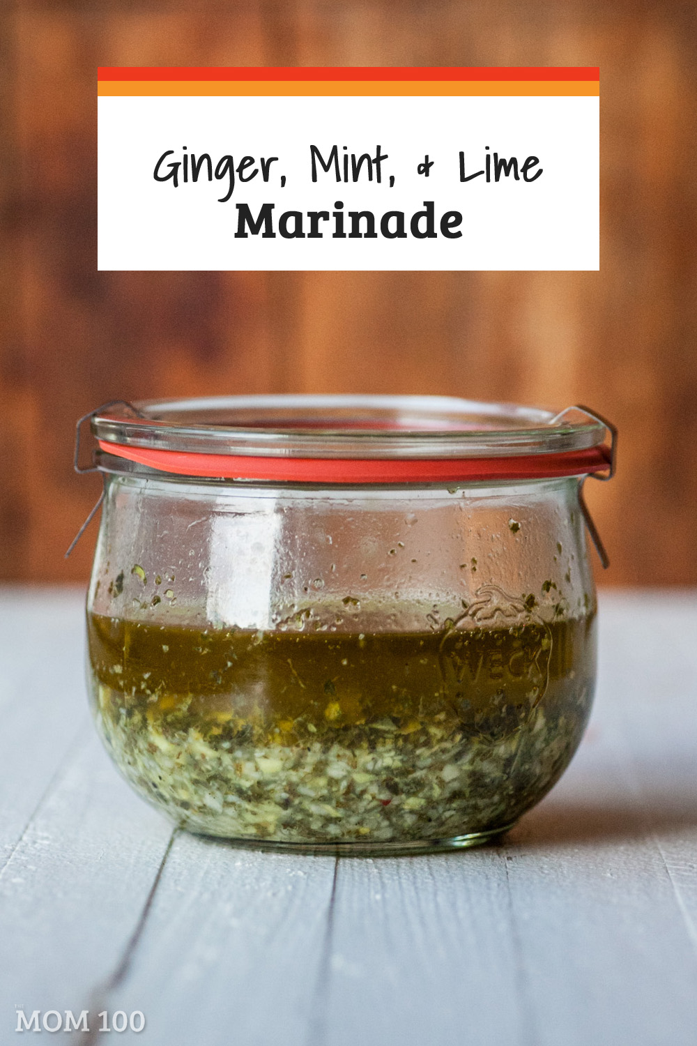 This Ginger Mint and Lime Marinade is lovely on pork chops or kebabs, chicken, shrimp, and any flaky thick white fish. Perfect for summer.
