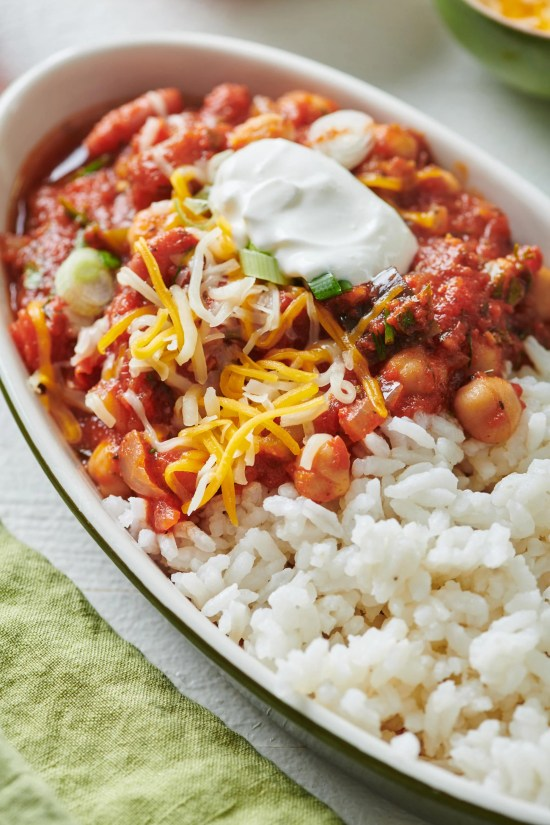 Instant Pot Vegetable Chili