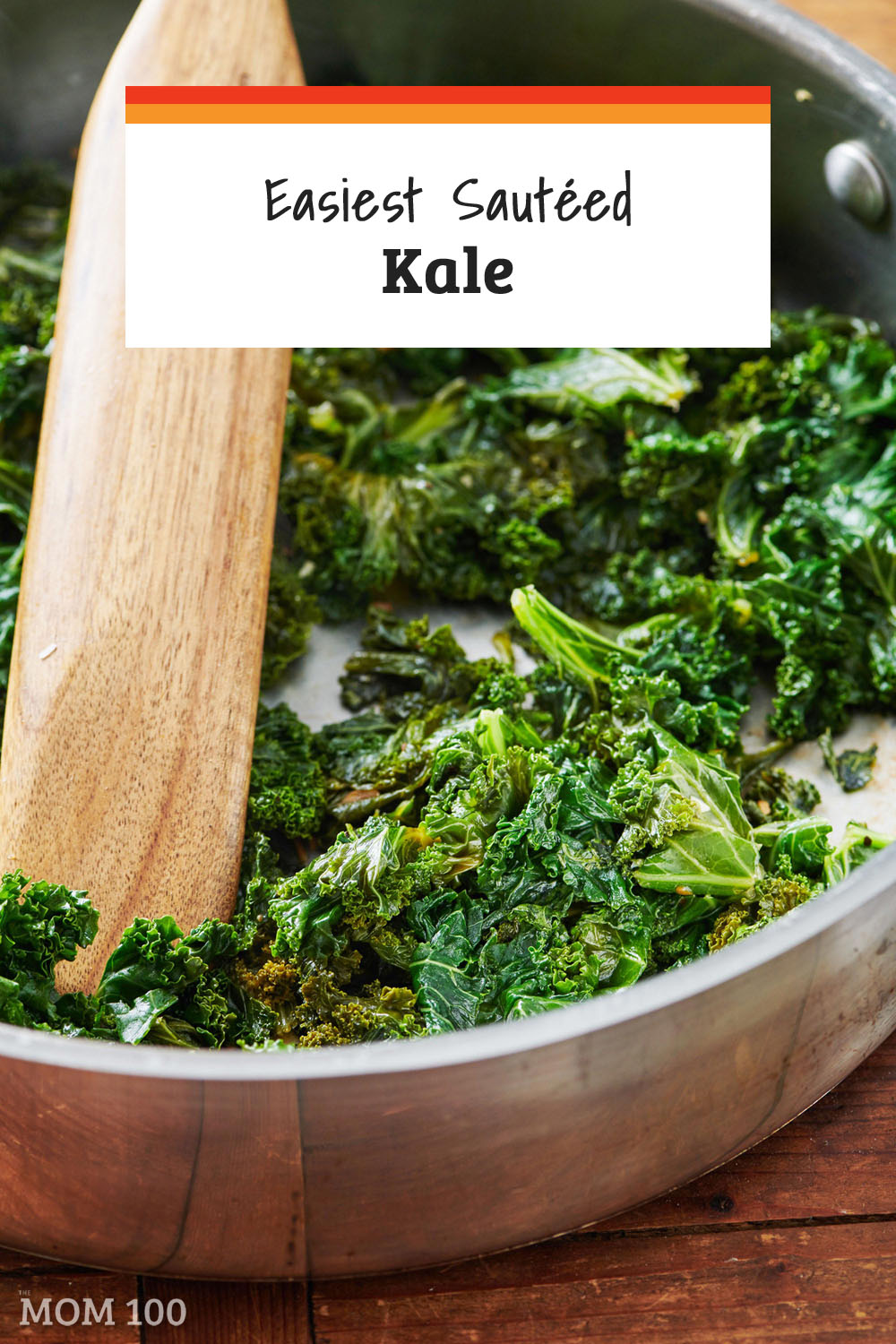 The Easiest Sautéed Kale Recipe: Sauteed kale is a fabulous simple side dish, and can also be added to everything from omelets to quesadillas to lasagnas to enchiladas for a pop of color and nutrition. #kale #cookedkale #greens