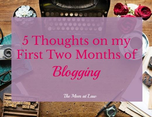 2 Months of Blogging