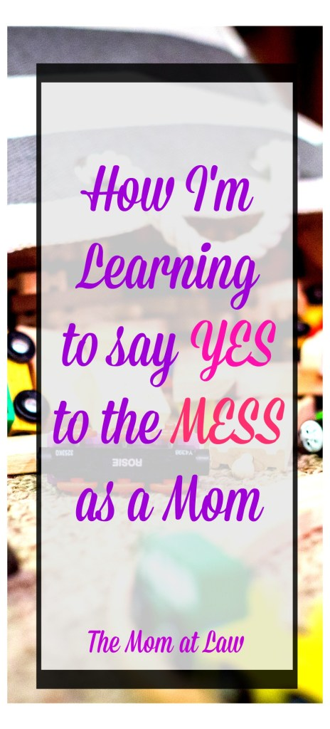 say yes to mess