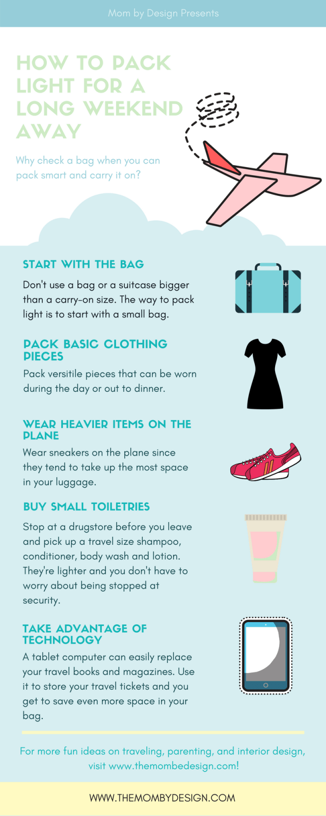 Packing Infographic