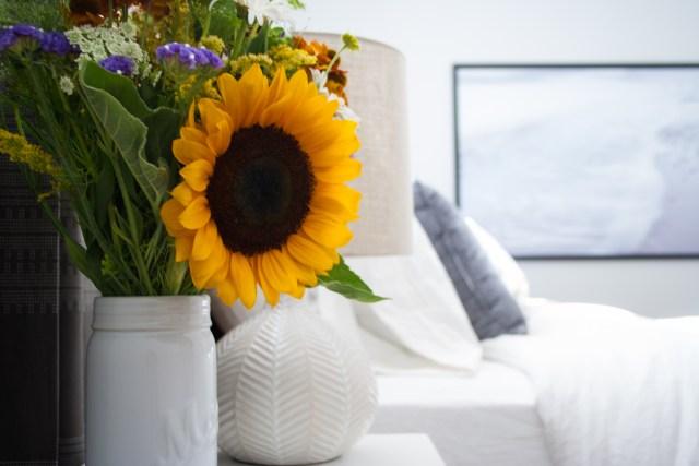 Sunflower Bedroom Shot