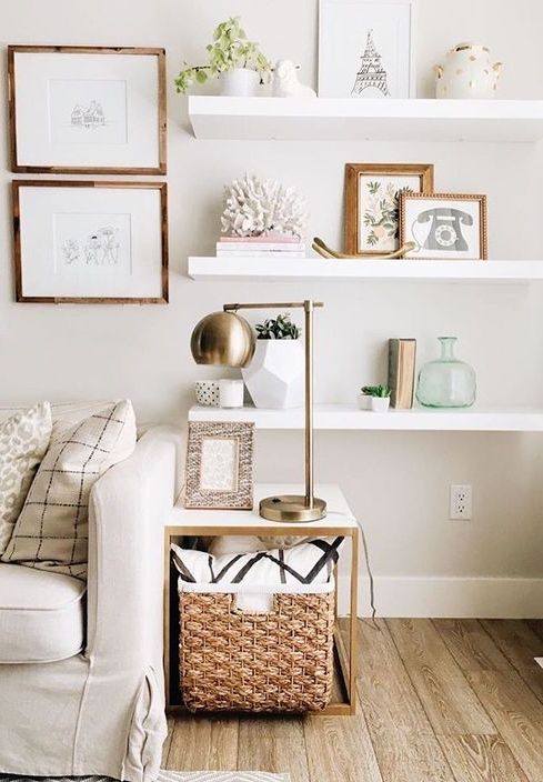 Floating Wall Shelving