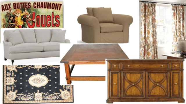 Friends Living Room Mood Board