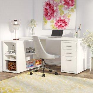 Drewes+L-Shape+Computer+Desk