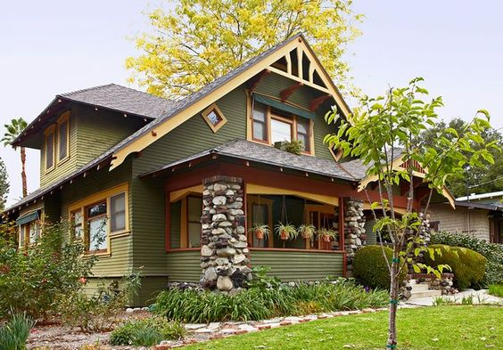 craftsman-style homes
