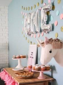Unicorn First Birthday