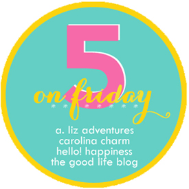 Five on Friday | V.14