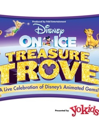 Disney On Ice Treasure Trove Giveaway at Bridgeport Connecticut Webster Bank Arena